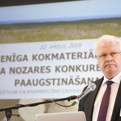 Mr. Janis Duklavs, Minister of Agriculture of Latvia